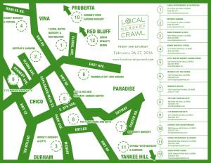 Local Nursery Crawl Map 2016