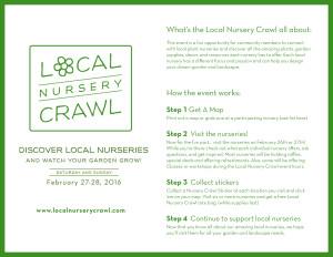 Local Nursery Crawl How It Works Flyer